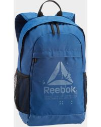1183712e8d92 Reebok Se Medium Women s Backpack In Black in Black for Men - Lyst
