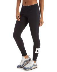 Nike - Swoosh Box Leggings - Lyst