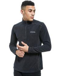 Columbia - 1/4 Zip Micro Fleece Top - Lyst