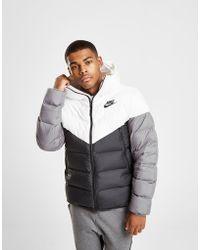 Nike - Down Fill Bubble Jacket - Lyst