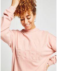 Ivy Park - Emboss Logo Crew Sweatshirt - Lyst