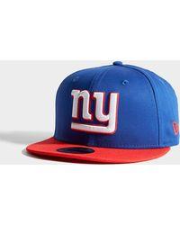 Lyst - Ktz New York Giants Baseball Cap in Blue d088689da