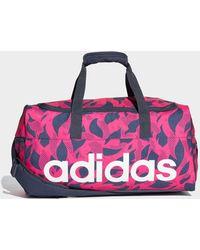 adidas - Linear Travel Bag - Lyst
