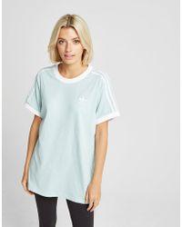 adidas Originals - 3-stripes California T-shirt - Lyst