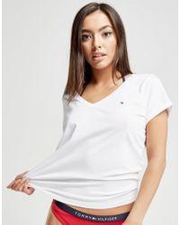 Tommy Hilfiger - V-neck T-shirt - Lyst