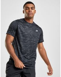 New Balance - Accelerate All Over Print T-shirt - Lyst