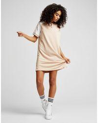 adidas Originals - Raglan California T-shirt Dress - Lyst
