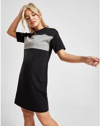cbedbc1e Fred Perry Asos Sequin and Lace Skater Dress in Black - Lyst