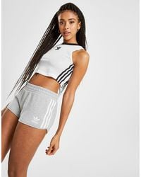 adidas Originals - 3-stripes French Terry Shorts - Lyst