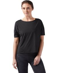 bb68fd5ac12 Adidas Originals Tape Longsleeve Crop T-shirt in Black - Lyst
