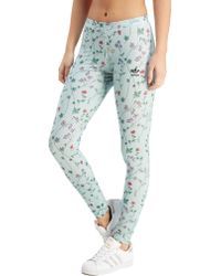 adidas Originals - All Over Print Floral Leggings - Lyst