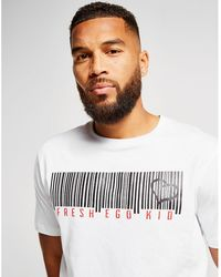 cceb78d6073 On sale Fresh Ego Kid - Barcode T-shirt - Lyst