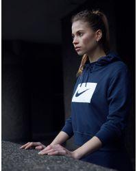 Nike - Swoosh Box Crop Hoodie - Lyst