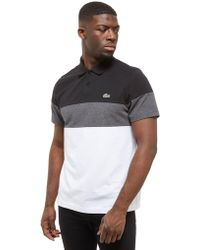 Lacoste - Tri Colour Block Polo - Lyst