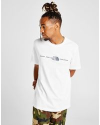 The North Face - Central Logo T-shirt - Lyst