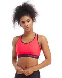 Under Armour - Mid Sports Bra - Lyst