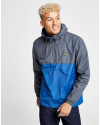 Lyle & Scott - 1/4 Zip Hooded Jacket - Lyst