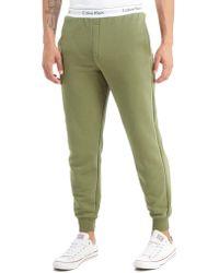 Calvin Klein - Tape Fleece Trousers - Lyst