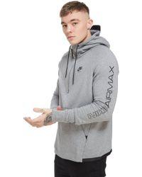 Nike - Airmax Ft 1/2 Zip Hoodie - Lyst