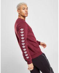 adidas Originals - Tape Qqr Crew Sweatshirt - Lyst
