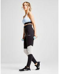 Nike - Mesh Panel Leggings - Lyst