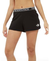 The North Face - Tape Fleece Shorts - Lyst