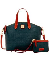 Dooney & Bourke - Cork Satchel & Medium Wristlet - Lyst