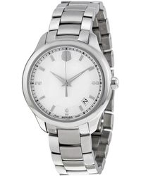 Movado - Bellina White Mother Of Pearl Dial Ladies Watch 0606978 - Lyst