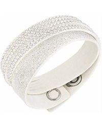 Swarovski - Slake Duo White Bracelet - 5169256 - Lyst