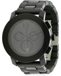 6bb37d094 Movado Series 800 Watch in Black for Men - Lyst