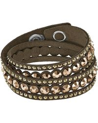 Swarovski - Slake Dot Bracelet - Lyst