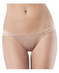 Spanx - Skinny Britches Sheer Shaping Power Thong (993) L/xl/nude - Lyst