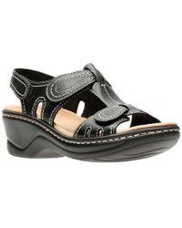 Clarks - Women's Lexi Walnut Sandal - Lyst