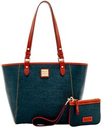 Dooney & Bourke - Cork Janie Tote Medium Wristlet - Lyst