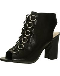 Nine West - Bree Leather Ankle-high Boot - 6m - Lyst