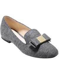 a86347badb9 Cole Haan - Tali Bow Loafer - Lyst