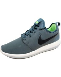 nike roshe two green