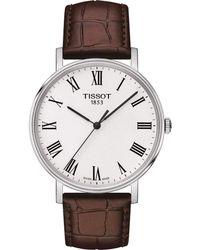 Tissot - T109.410.16.033.00 Everytime Medium Watch 38mm Stainless Steel - Lyst