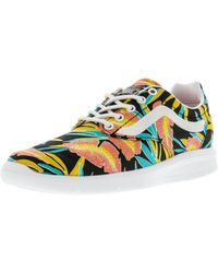 fd687967af4 Vans - Iso 1.5 Tropical Leaves Ankle-high Canvas Skateboarding Shoe - 9.5m  8m