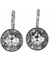 Swarovski - Bella Crystal Pierced Mini Earrings 5085608 - Lyst