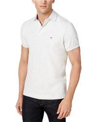 Tommy Hilfiger - Sl Custom Rugby Polo Shirt - Lyst