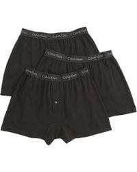 Calvin Klein | Cotton Classic Knit Boxer (3-pack) | Lyst