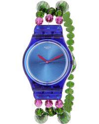 Swatch - Originals Gn243b Blue Plastic Swiss Quartz Watch - Lyst