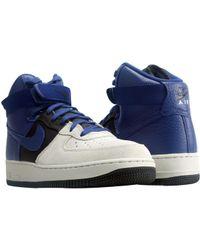 Lyst Nike Zapatos Air Force 1 Mid Zapatos Nike Tamaño En Azul Para Los Hombres 0bda8f