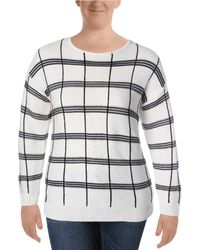 Calvin Klein - Striped Long Sleeves Sweater - Lyst