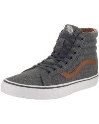 64f8a754a5287b Vans - Unisex Sk8-hi Reissue (denim C l) Prscp dachsnd Skate Shoe