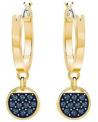 Swarovski - Ginger Mini Hoop Pierced Earrings - 5392915 - Lyst