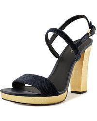 Calvin Klein - Bambii Women Us 10 Blue Heels - Lyst