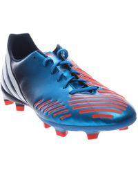 lyst adidas originali predatore absolado lz trx fg in blu per gli uomini.