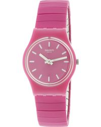 Swatch - Flexipink Ladies Watch Lp149a - Lyst